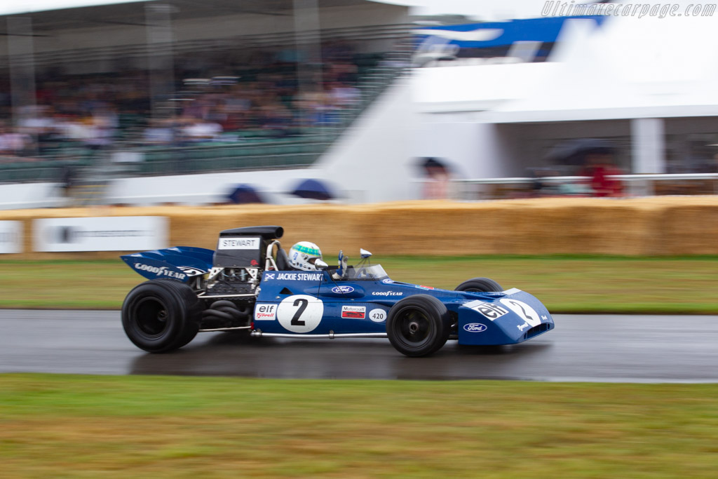 Tyrrell 003 Cosworth - Chassis: 003 - Entrant / Driver Paul Stewart - 2019 Goodwood Festival of Speed