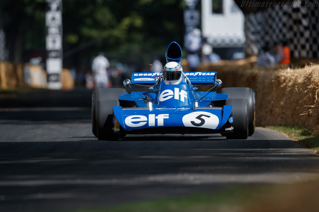 Tyrrell 006 Cosworth - Chassis: 006/2 - Entrant / Driver Mark Stewart - 2019 Goodwood Festival of Speed