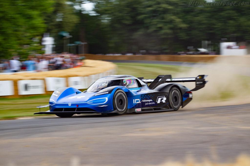 Volkswagen ID.R  - Entrant: Volkswagen AG - Driver: Romain Dumas - 2019 Goodwood Festival of Speed