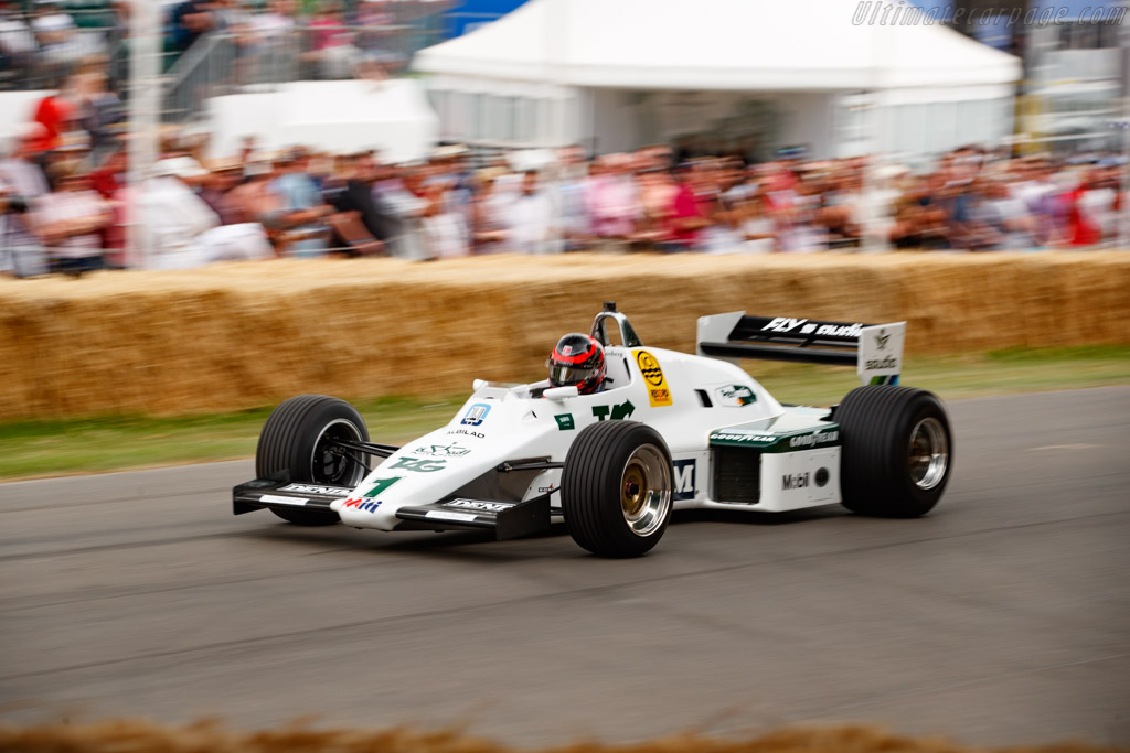 Williams FW08C - Chassis: FW08-12 - Entrant: Williams Heritage - Driver: Karun Chandhok - 2019 Goodwood Festival of Speed