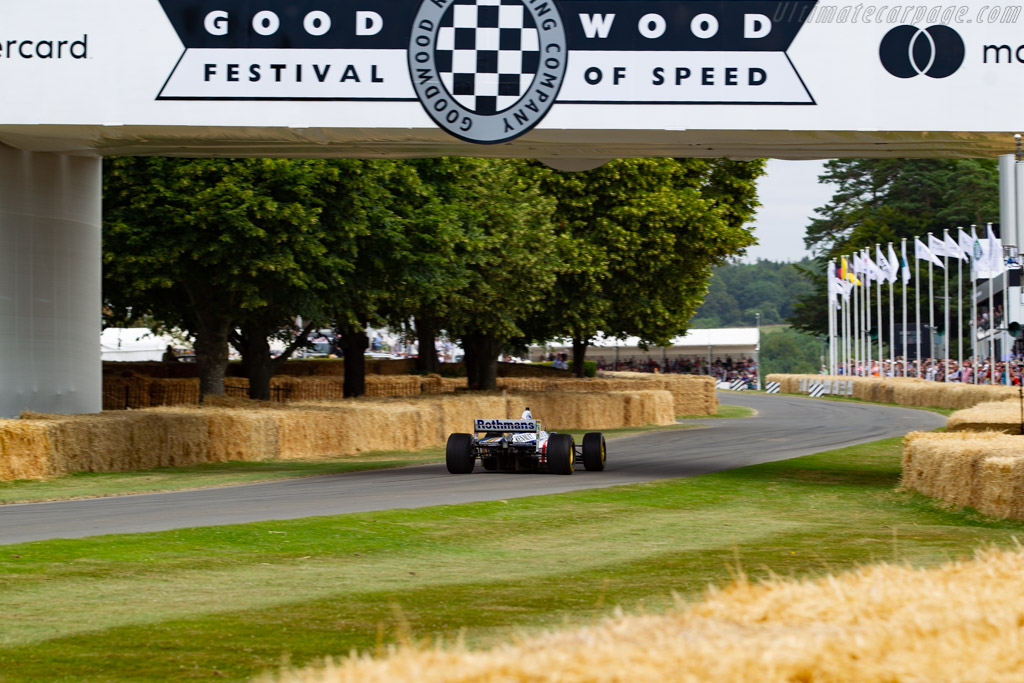 Williams FW19 - Chassis: FW19-06 - Entrant: Williams Heritage - Driver: Ted Zorbas - 2019 Goodwood Festival of Speed