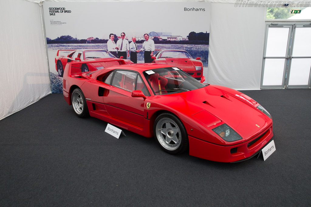 Ferrari F40 - Chassis: 78036   - 2017 Goodwood Festival of Speed