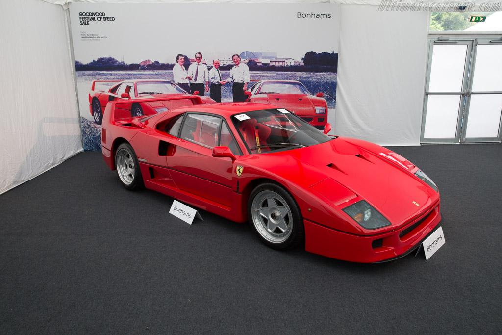 Ferrari F40 - Chassis: 78036   - 2017 Goodwood Festival of Speed