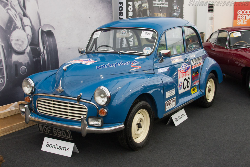 Morris Minor 1000 Rally Car - Chassis: M/A2S5D128482M   - 2017 Goodwood Festival of Speed