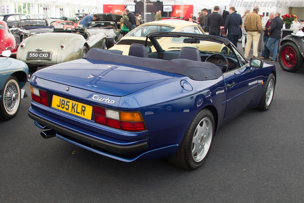 Porsche 944 Turbo Cabriolet - Chassis: WP0ZZZ95ZMN130523   - 2017 Goodwood Festival of Speed