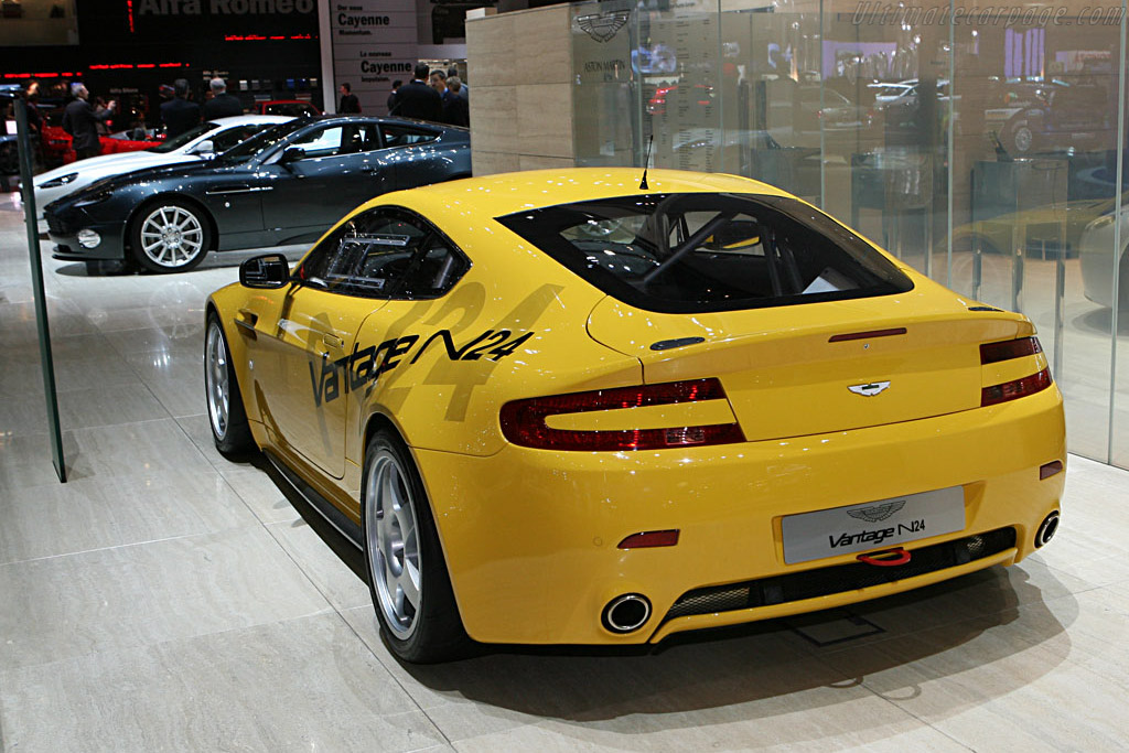 Aston Martin V8 Vantage N24    - 2007 Geneva International Motor Show