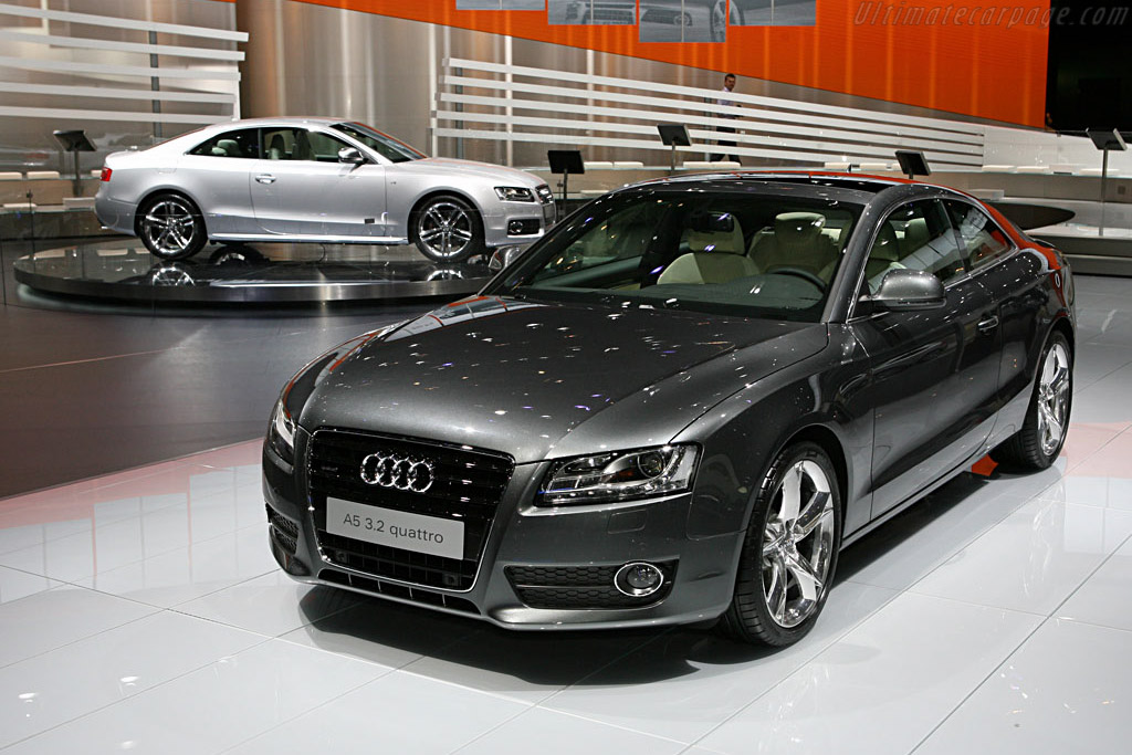 Audi A5    - 2007 Geneva International Motor Show