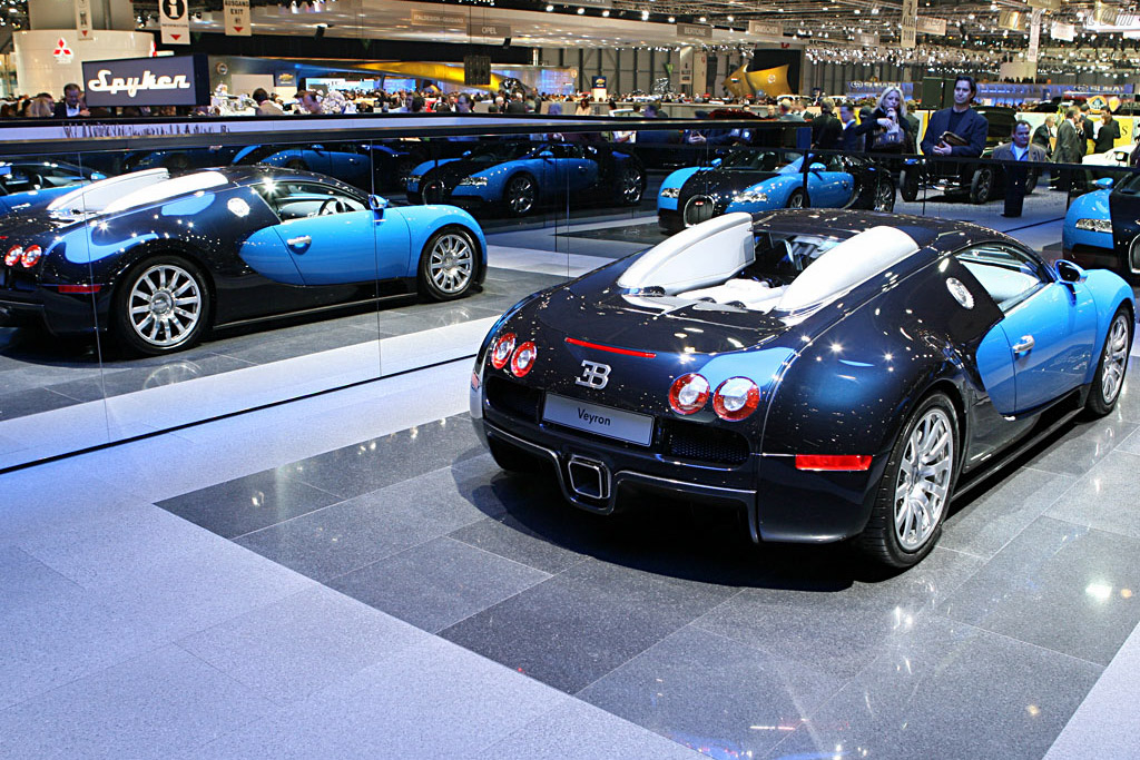 Bugatti Veyron    - 2007 Geneva International Motor Show