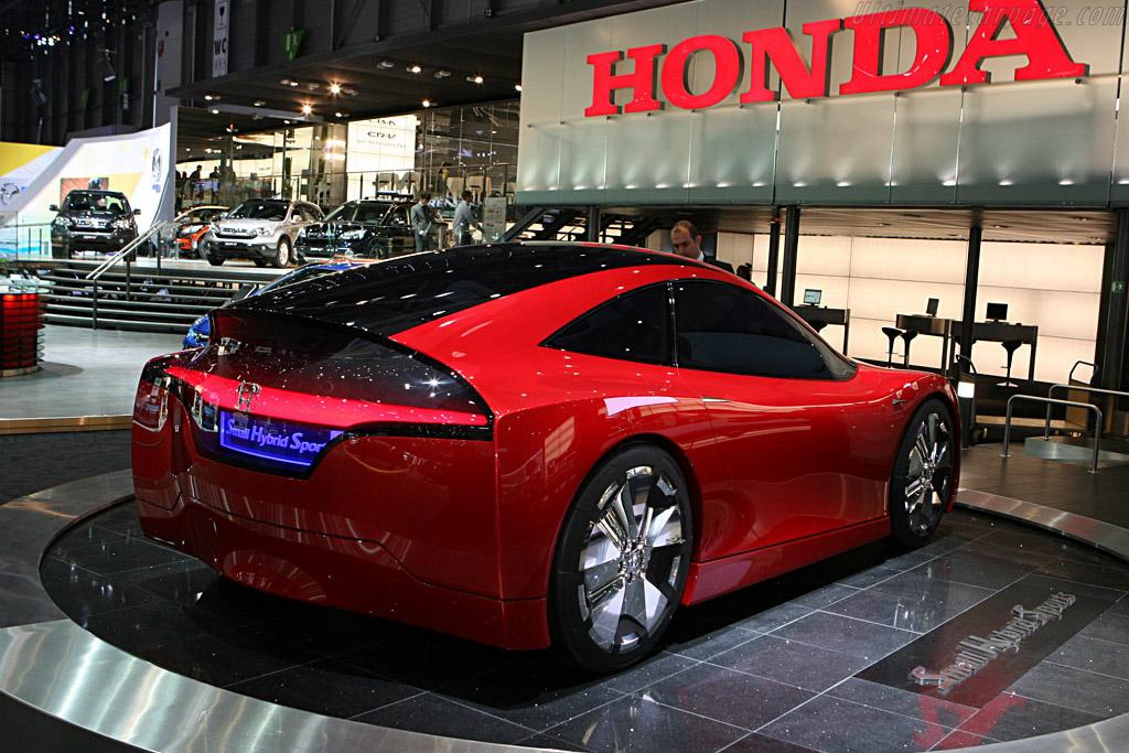 Honda Small Hybrid Sports Concept - 2007 Geneva ...