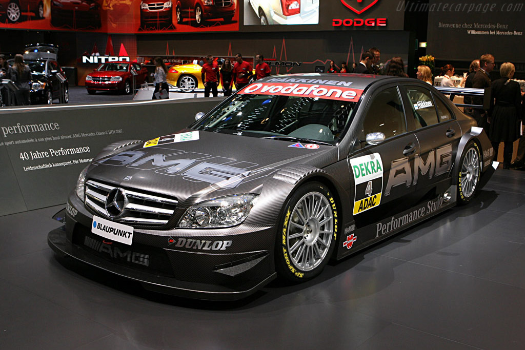 Mercedes-Benz C-Class DTM    - 2007 Geneva International Motor Show