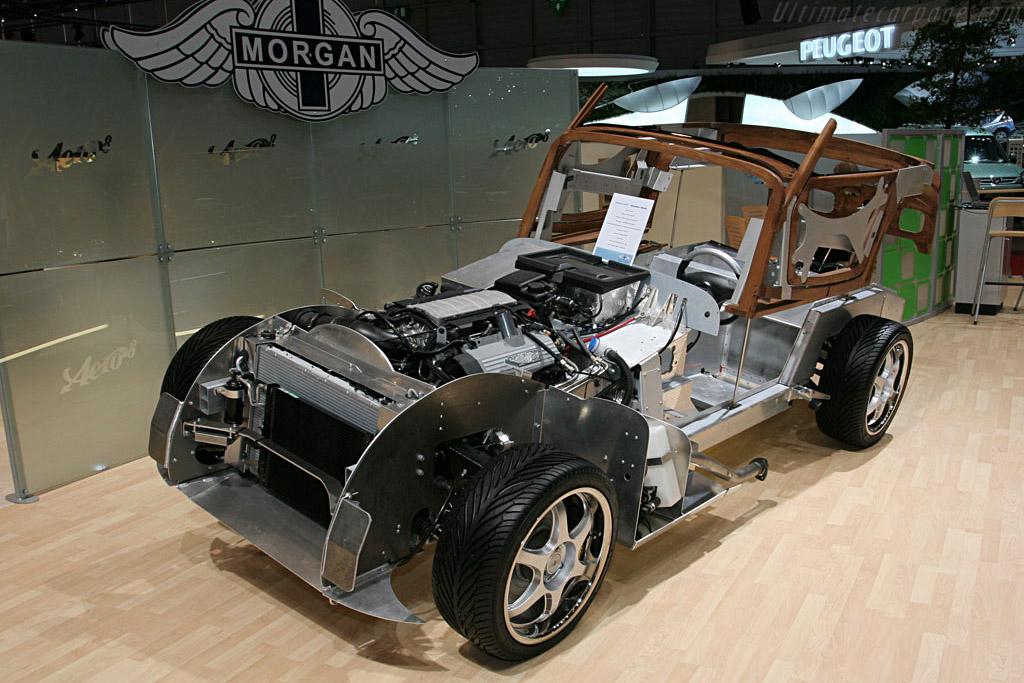 morgan aero 8 chassis 2007 geneva international motor show