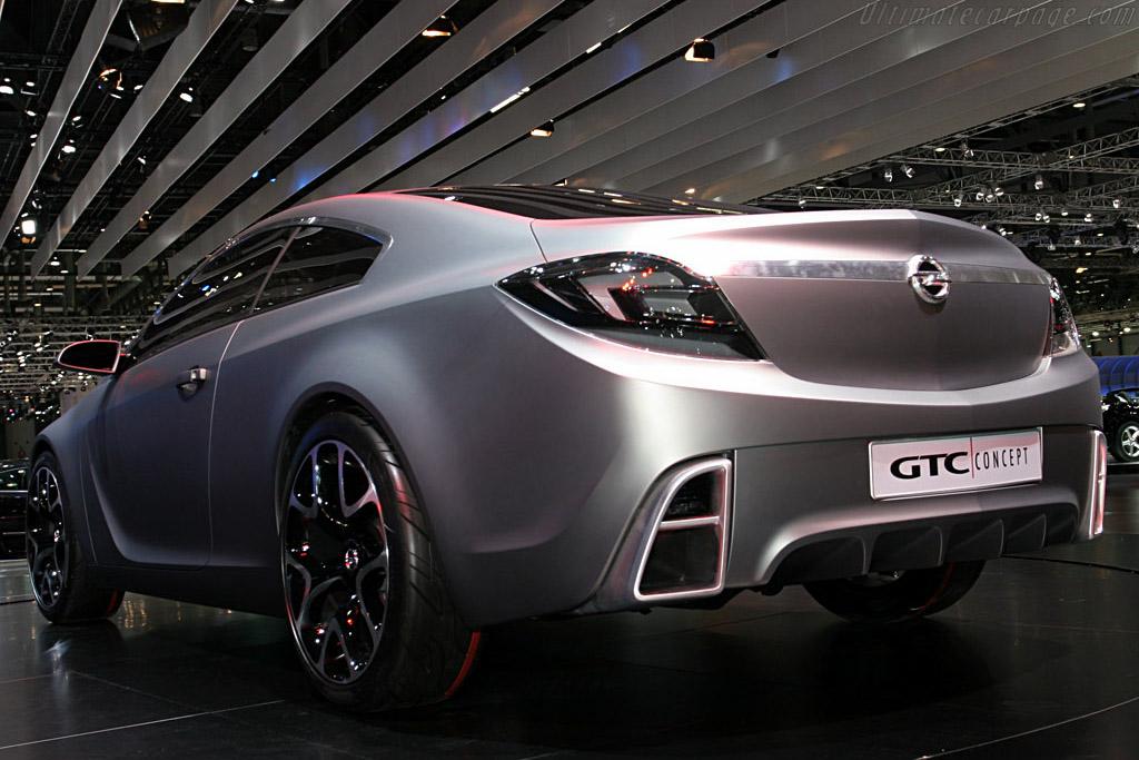 Opel Gtc Concept 2007 Geneva International Motor Show