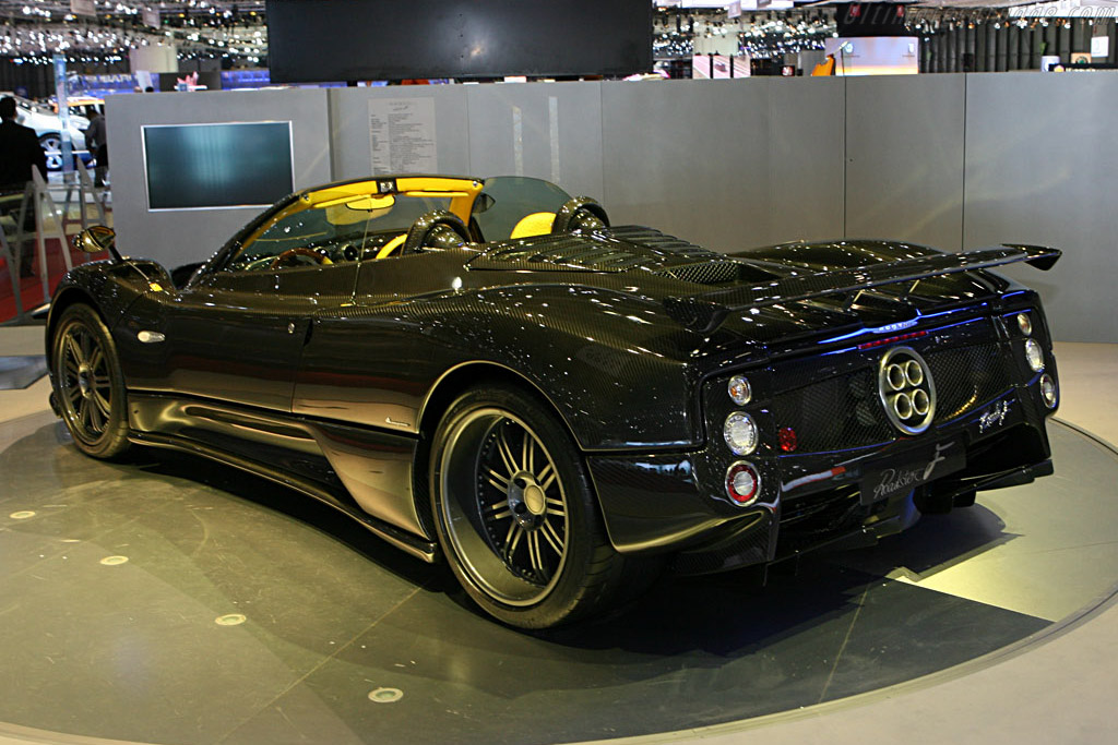 Pagani Zonda F    - 2007 Geneva International Motor Show