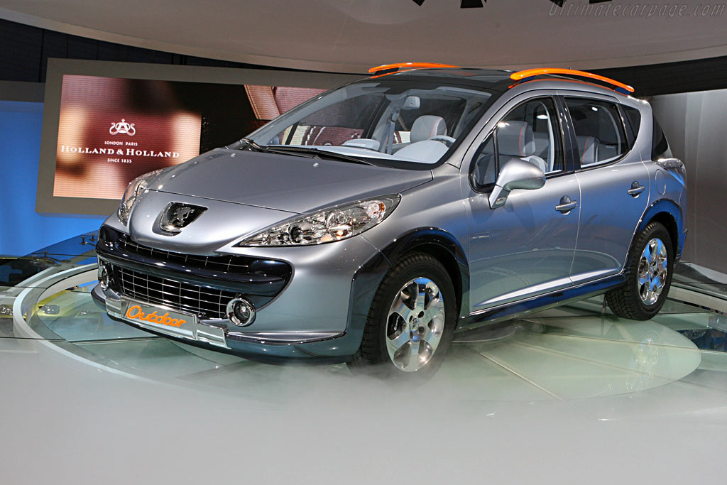 Peugeot 207 SW Outdoor Concept    - 2007 Geneva International Motor Show