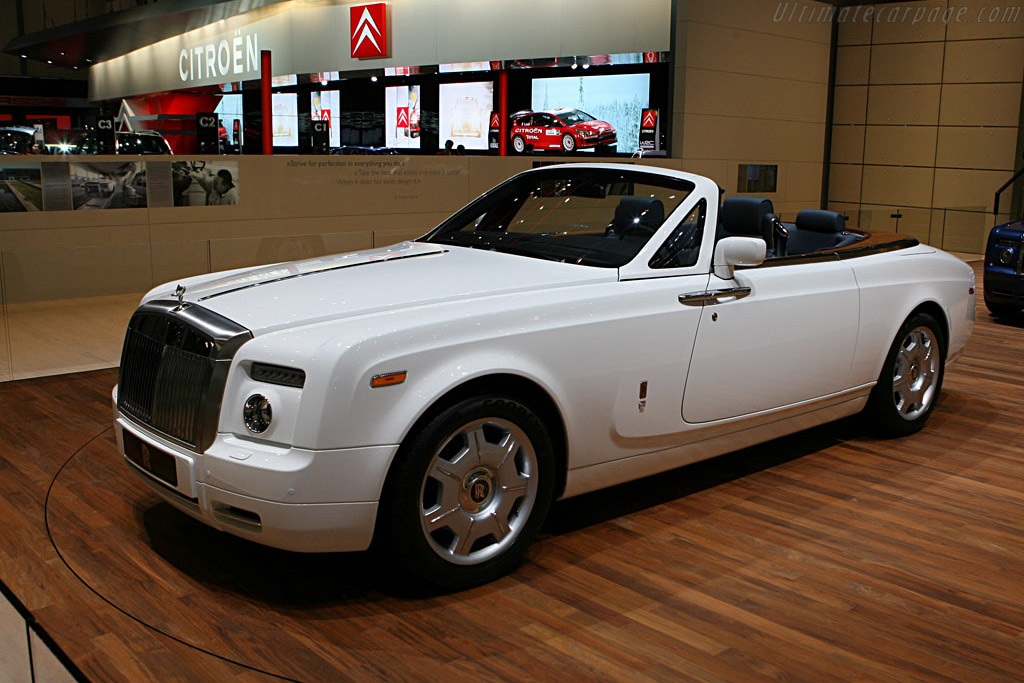 Rolls-Royce Phantom DHC    - 2007 Geneva International Motor Show