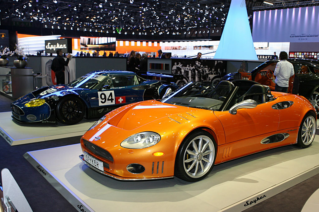 Spyker C8 Spyder    - 2007 Geneva International Motor Show
