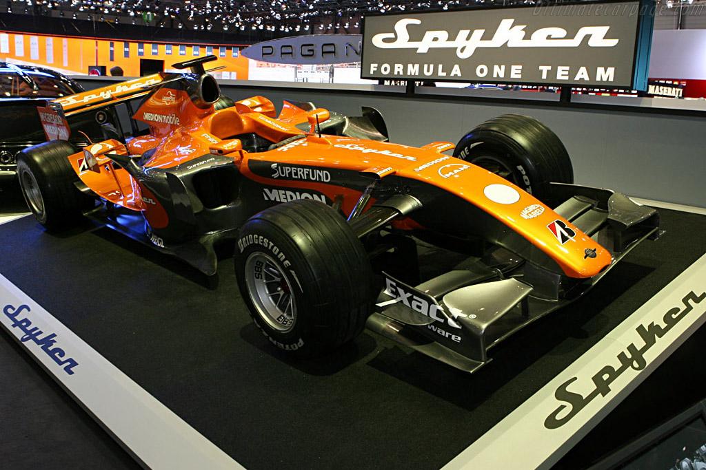 Spyker F8-VIII Ferrari    - 2007 Geneva International Motor Show
