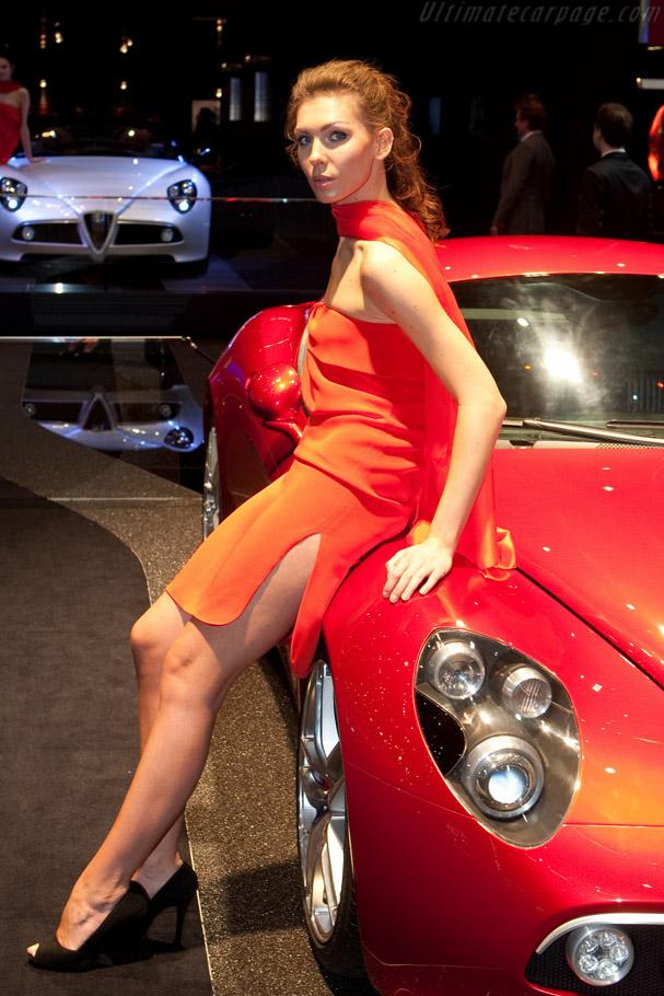 Alfa Romeo 8C Competizione    - 2009 Geneva International Motor Show