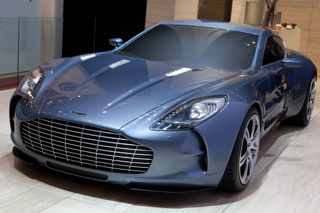 Aston Martin One-77    - 2009 Geneva International Motor Show