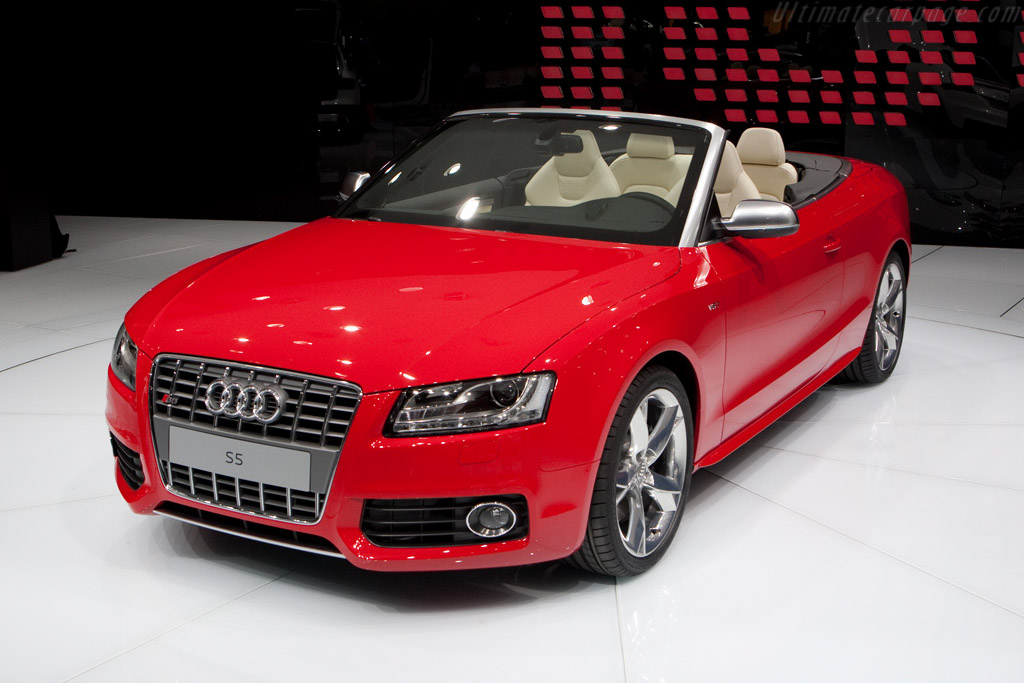 Audi S5 Cabriolet 2009 Geneva International Motor Show