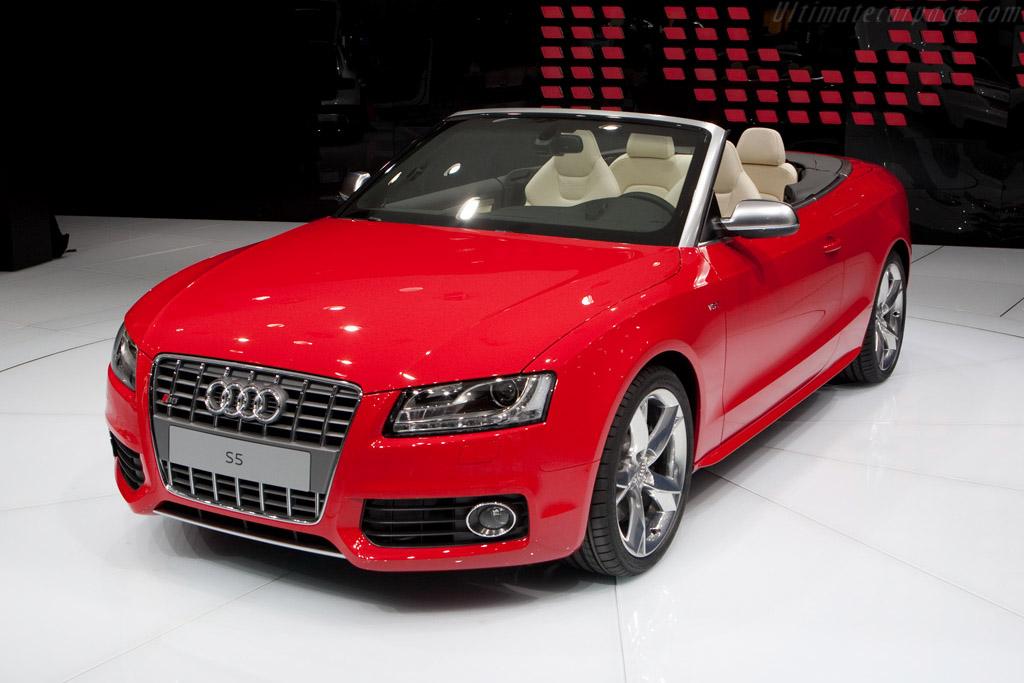 Audi S5 Cabriolet 2009 Geneva International Motor Show