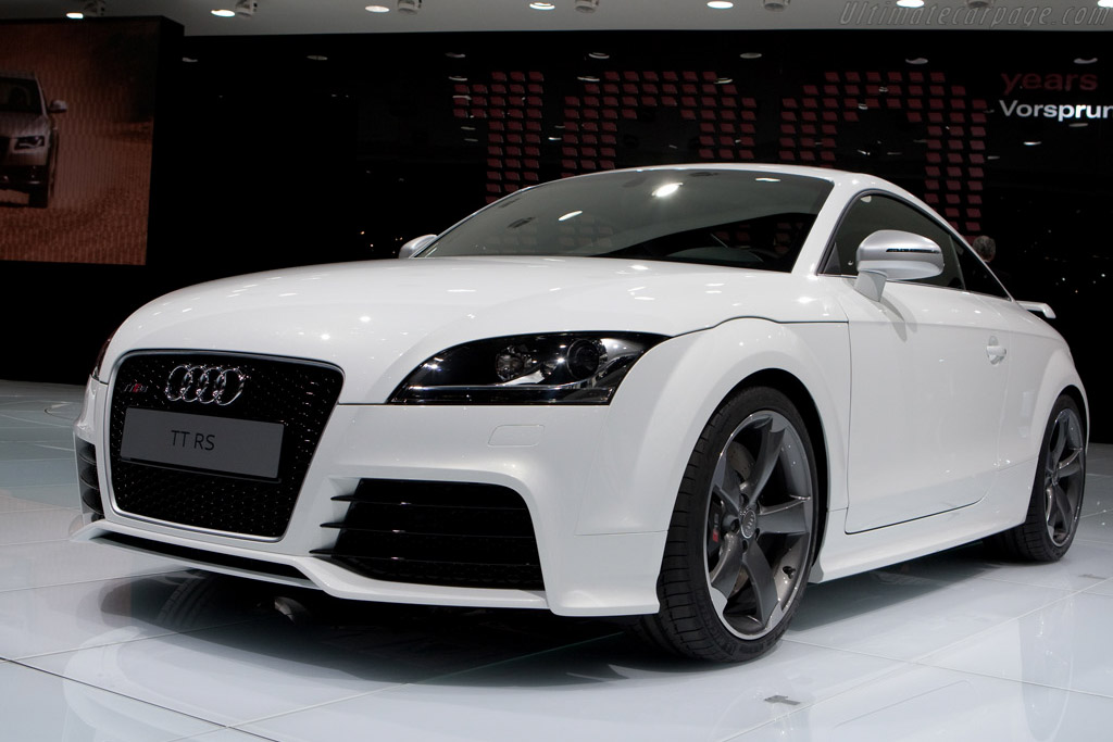 Audi TT RS    - 2009 Geneva International Motor Show