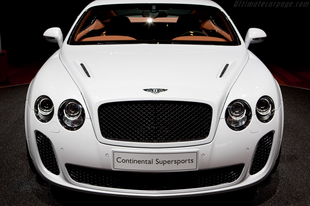 Bentley Continental Supersports    - 2009 Geneva International Motor Show