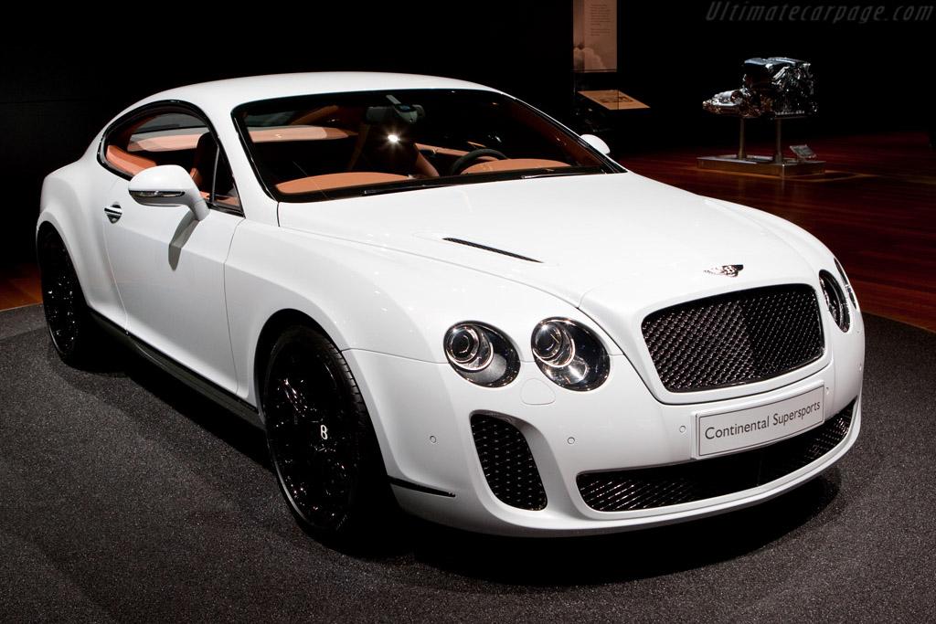 Bentley Continental Supersports 2009 Geneva