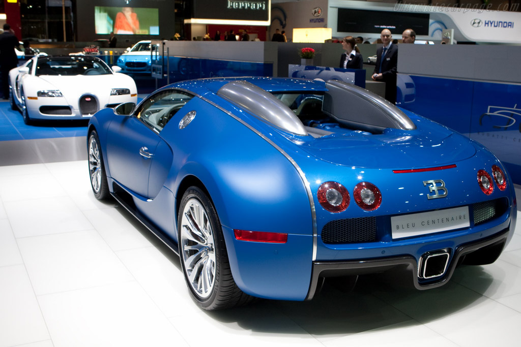 bugatti 16 4 veyron bleu centenaire 2009 geneva international motor show. Black Bedroom Furniture Sets. Home Design Ideas