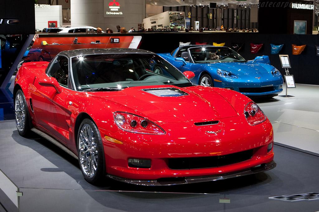 Chevrolet Corvette ZR1    - 2009 Geneva International Motor Show