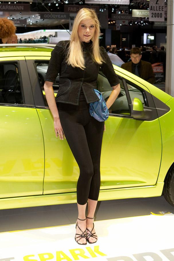 Chevrolet Spark    - 2009 Geneva International Motor Show