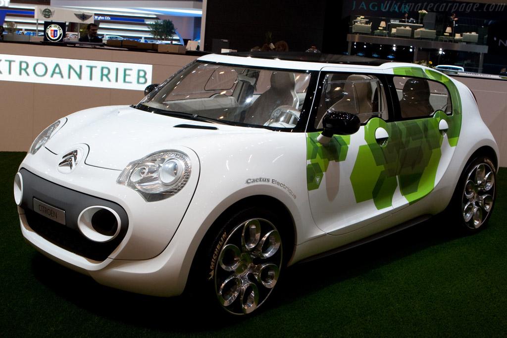 Citroën Cactus Electric    - 2009 Geneva International Motor Show