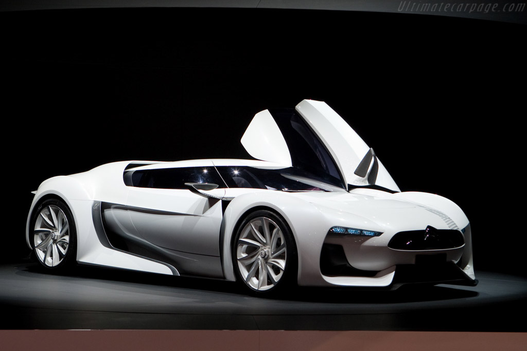 Citroën GT Concept    - 2009 Geneva International Motor Show