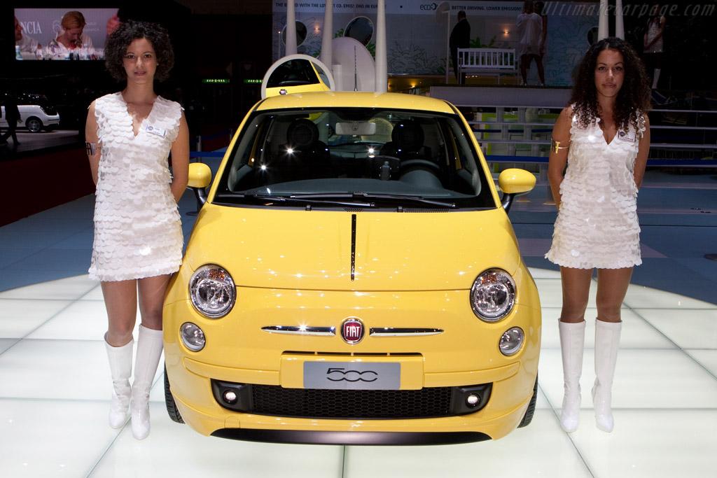 Fiat 500    - 2009 Geneva International Motor Show