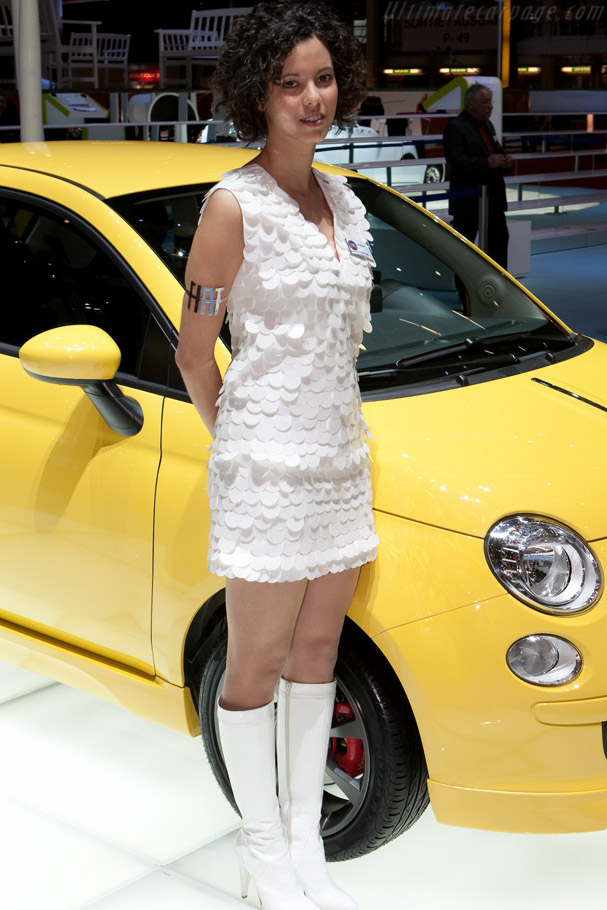 Fiat 500    - 2009 Geneva International Motor Show