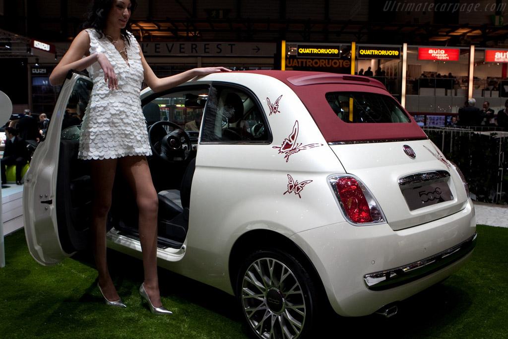 Fiat 500C    - 2009 Geneva International Motor Show