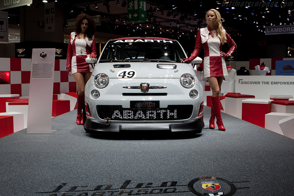 Fiat Abarth 500 Assetto Corse    - 2009 Geneva International Motor Show