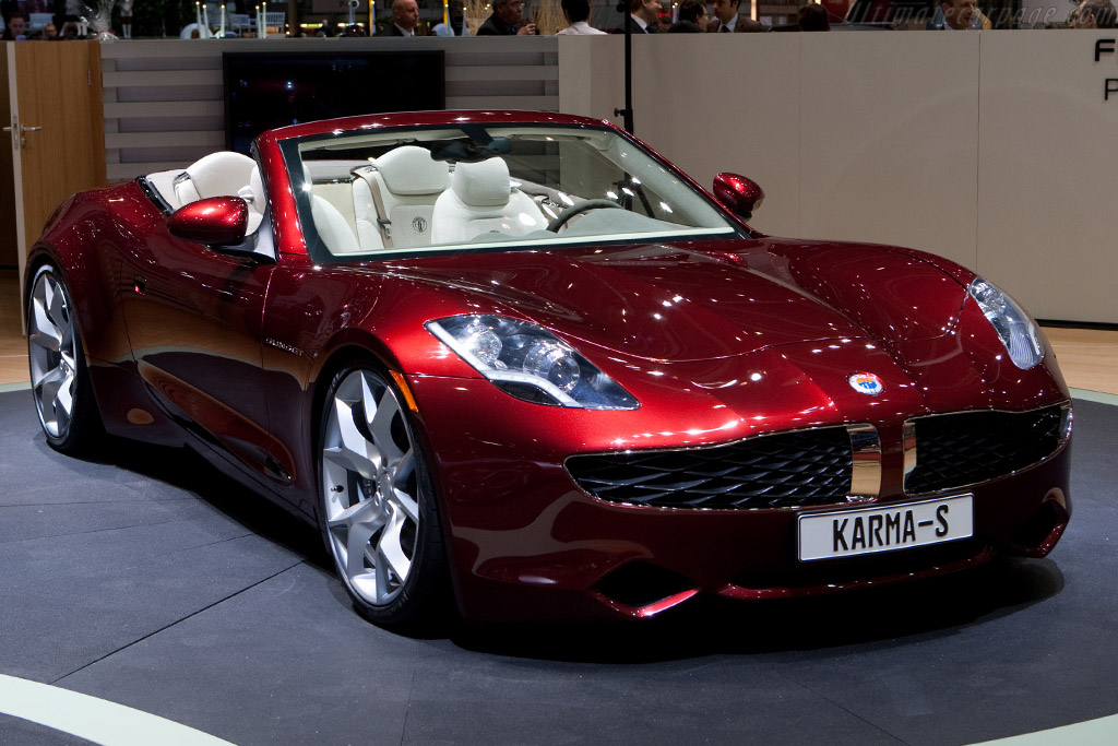 Fisker Karma Sunset    - 2009 Geneva International Motor Show