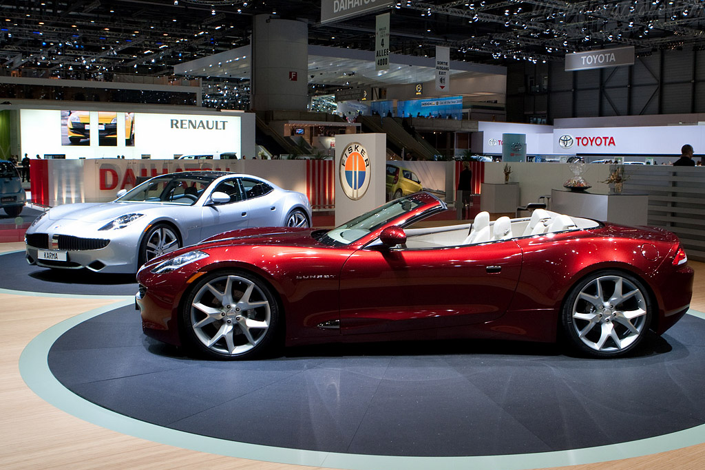 Fisker Karma Sunset    - 2009 Geneva International Motor Show