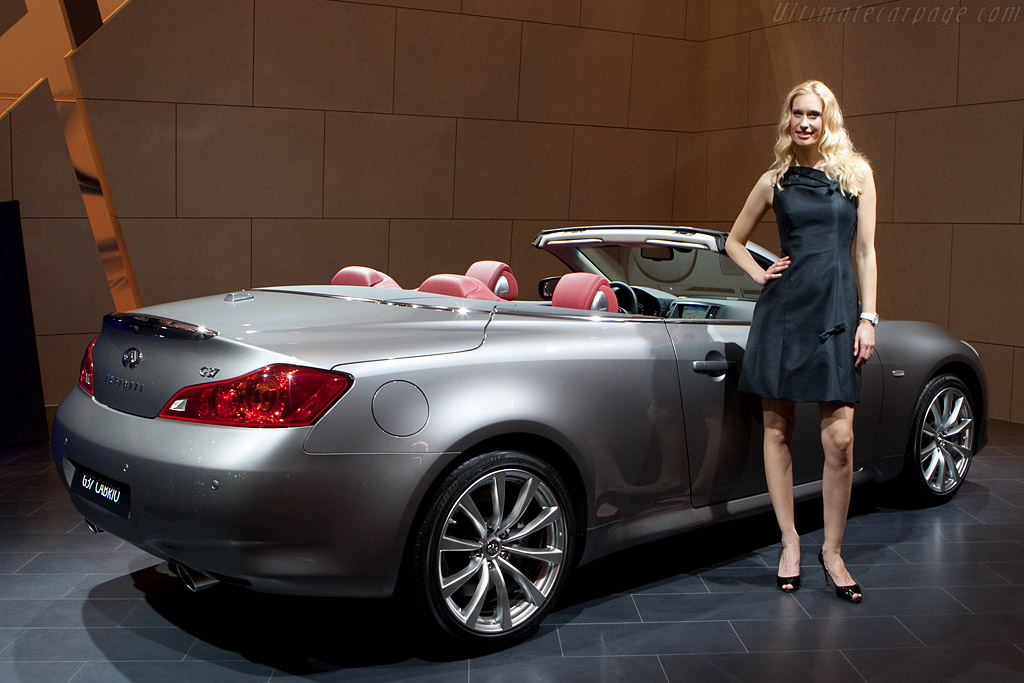 Infiniti G37 Convertible    - 2009 Geneva International Motor Show