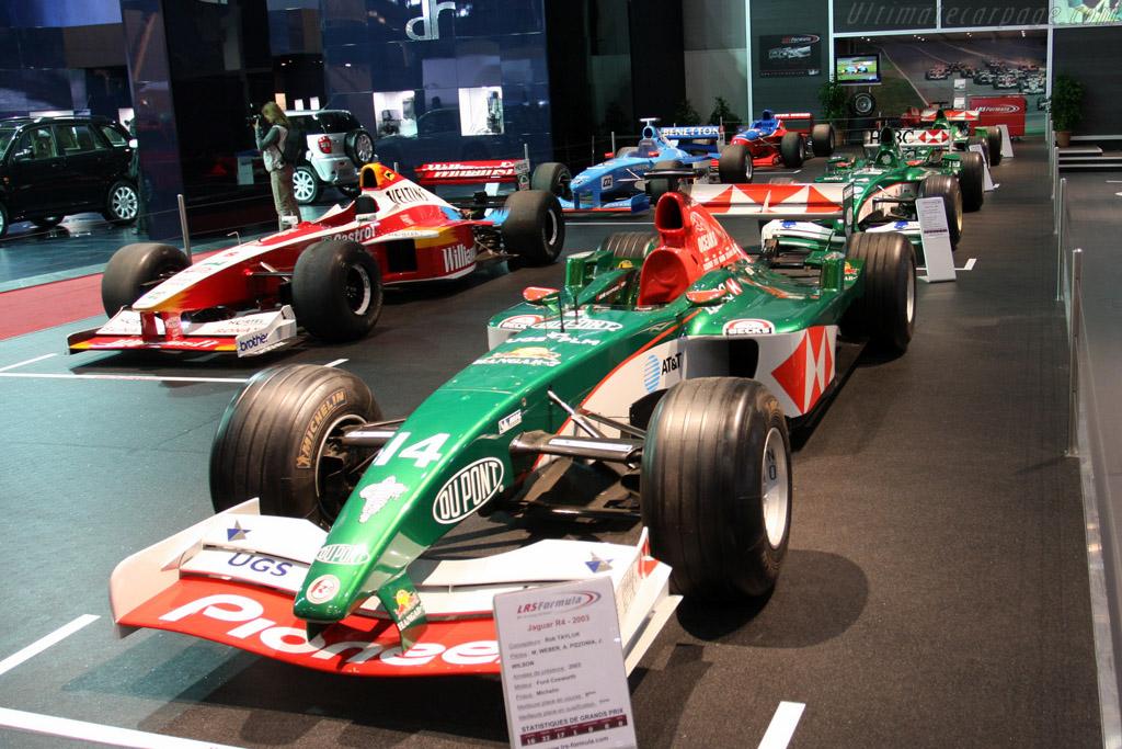 Jaguar R4    - 2009 Geneva International Motor Show