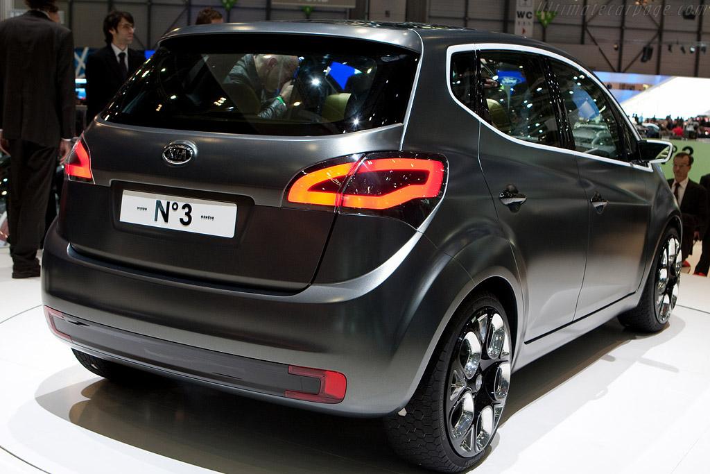 KIA No3 Concept    - 2009 Geneva International Motor Show