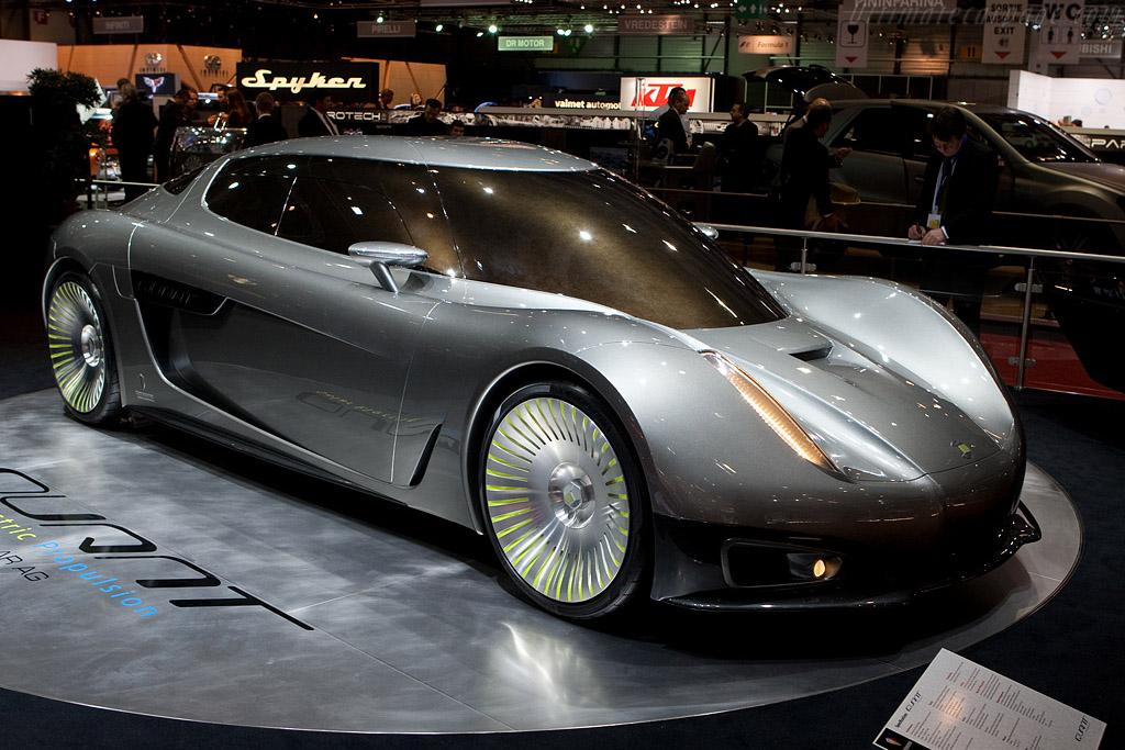 Koenigsegg Quant Concept    - 2009 Geneva International Motor Show