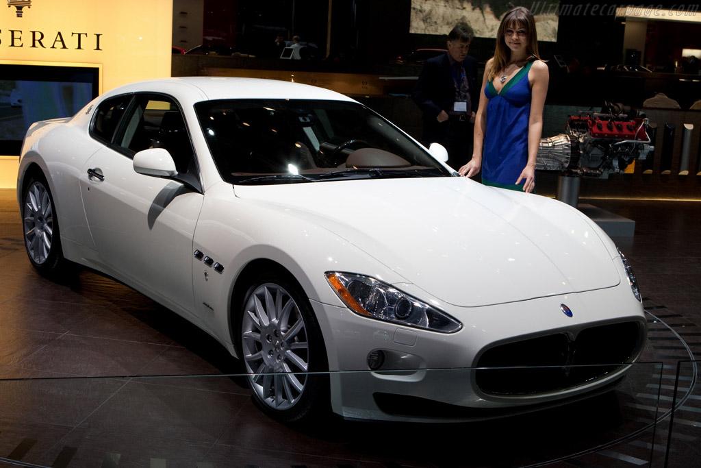 Maserati Granturismo S Automatic    - 2009 Geneva International Motor Show