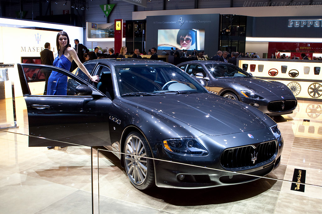 Maserati Quattroporte S GTS    - 2009 Geneva International Motor Show