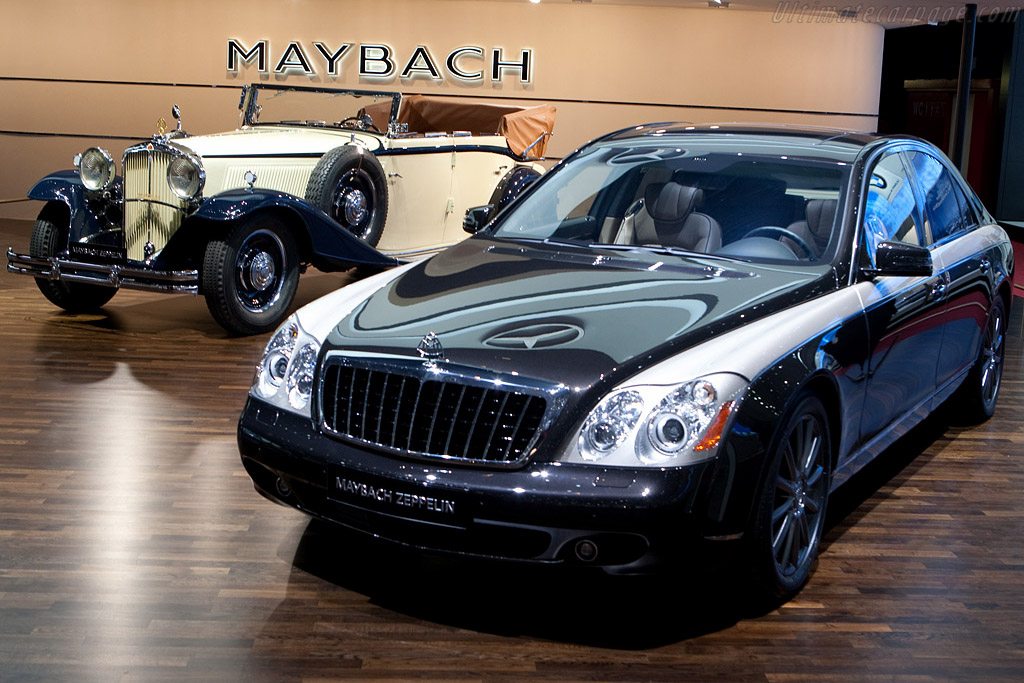 Maybach 62S Zeppelin    - 2009 Geneva International Motor Show