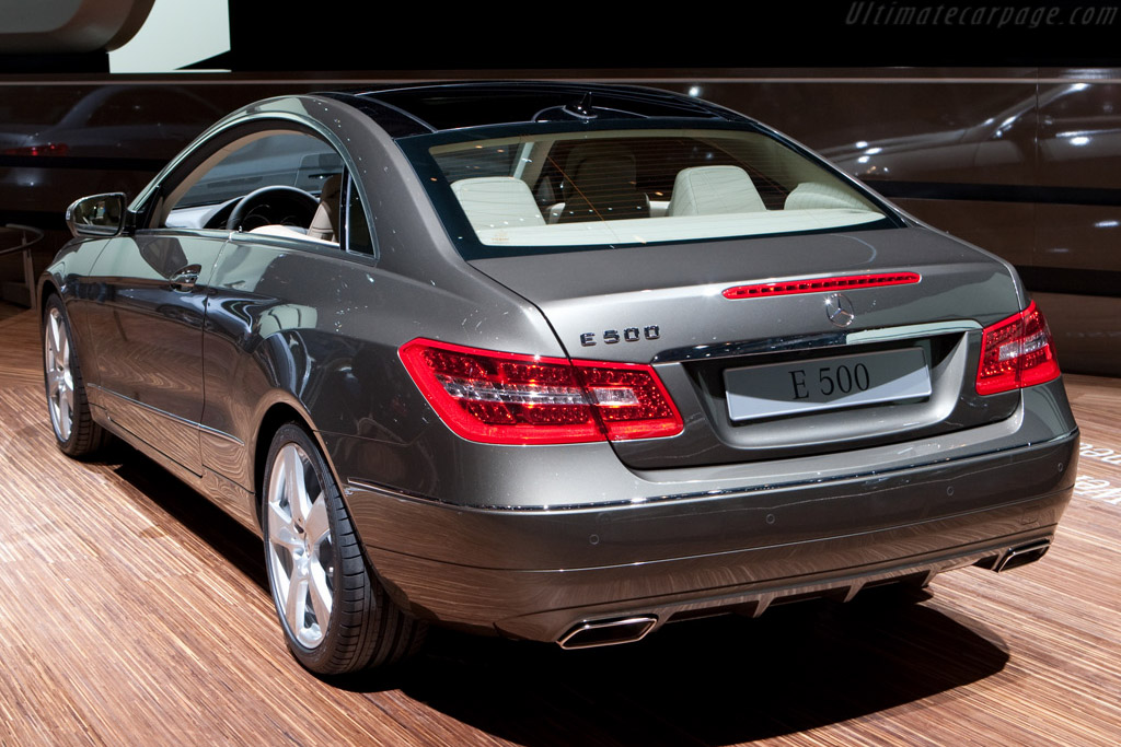 Mercedes-Benz E 500    - 2009 Geneva International Motor Show