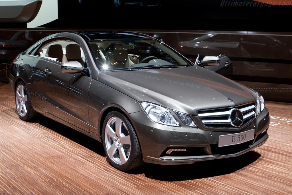 Mercedes benz e 500 2009 geneva international motor show for International mercedes benz