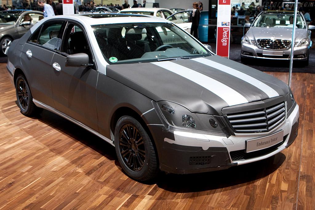 Mercedes-Benz E Class tester    - 2009 Geneva International Motor Show