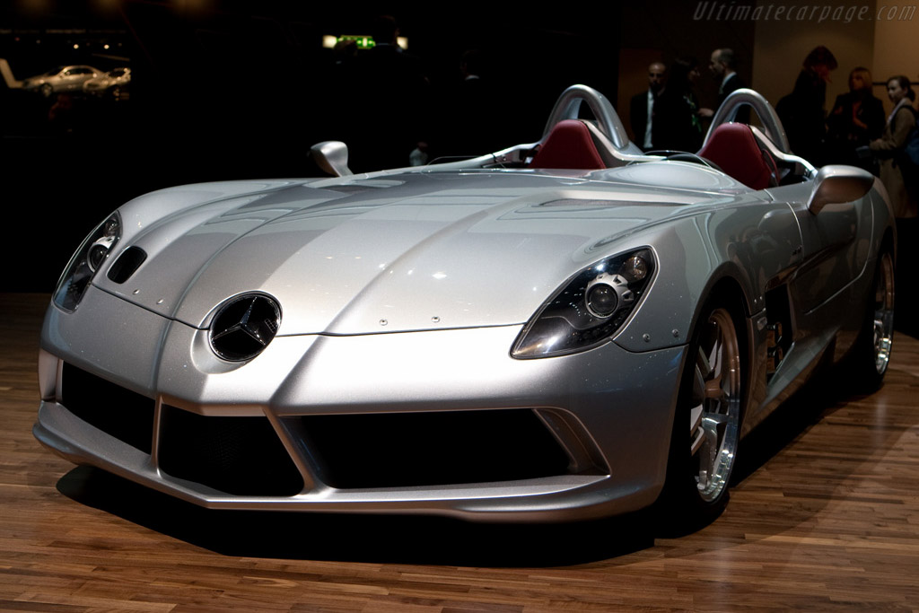 Mercedes-Benz SLR McLaren 'Stirling Moss'    - 2009 Geneva International Motor Show